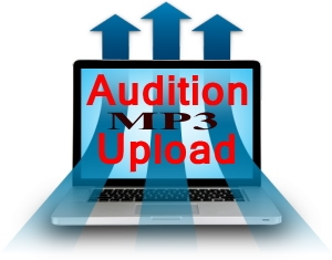 audition upload page